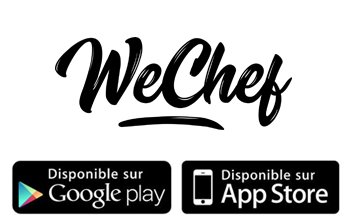 L'Application WeChef maintenant disponible sur l'App Store et Google Play