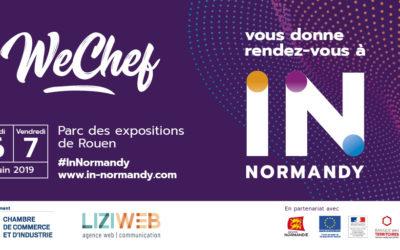 WeChef sera présent au salon In_Normandy de Rouen les 6 et 7 juin 2019